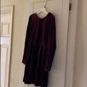 Girls M(8) velvet dress